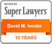 David Ivester Super Lawyer Badge